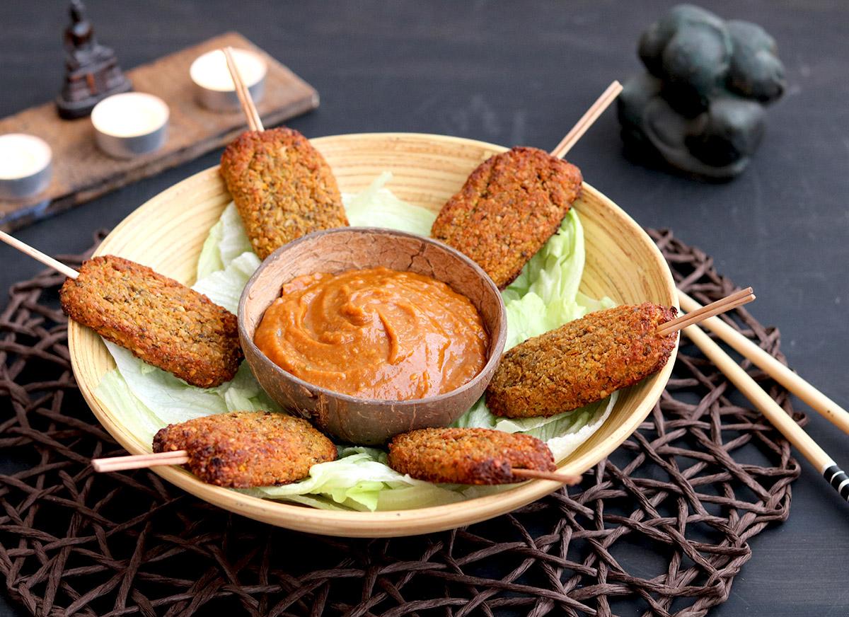 балинезийски фъстъчен сос