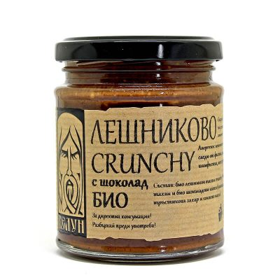 Био Лешниково Крънчи с белгийски шоколад